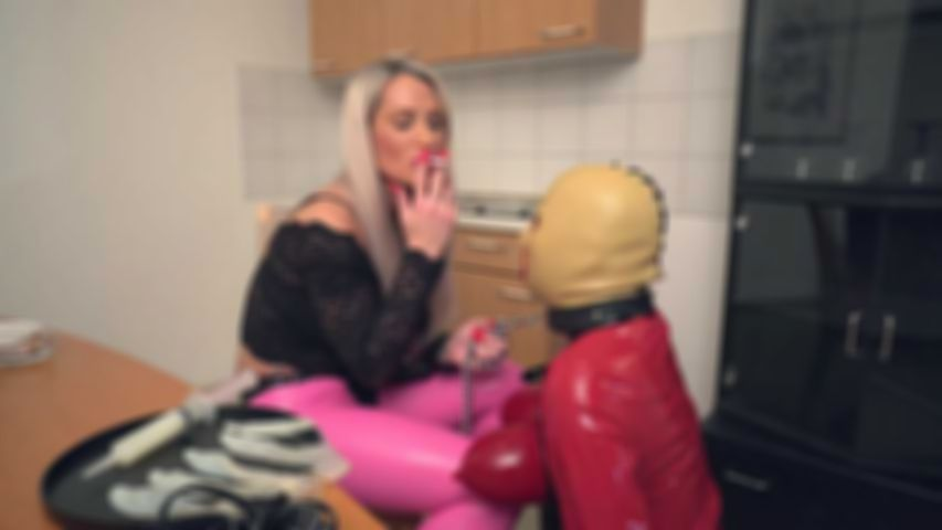 Sperm for my Rubberdoll