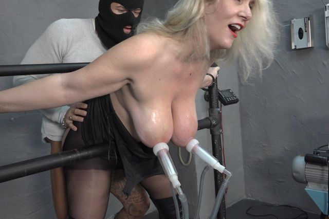 Milking and fucking a Milf