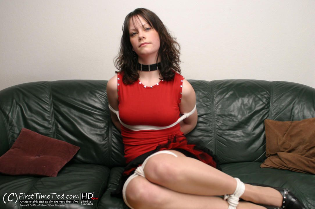 Rebeka tied up for the very first time - 1