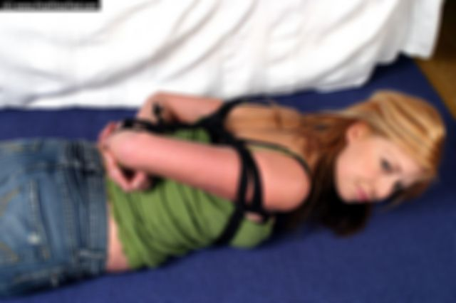 PAULA HOGTIED THE VERY FIRST TIME