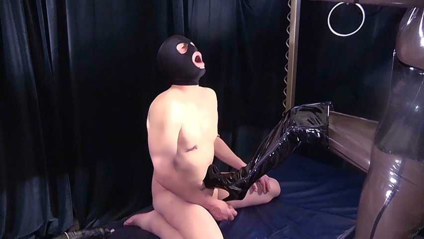 Bizarr Lady Alice - You must eat your own cum now!