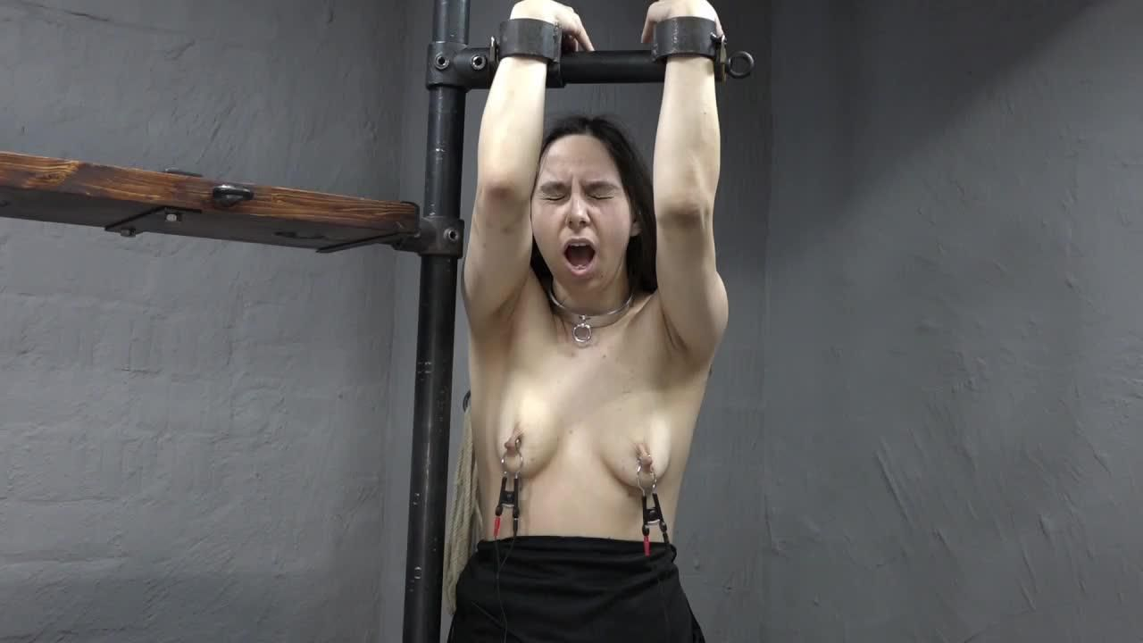 Clamps pull on the Sybian
