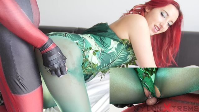 151 - Anais Latour - Poison Ivy With nylon Green pantyhose fucked
