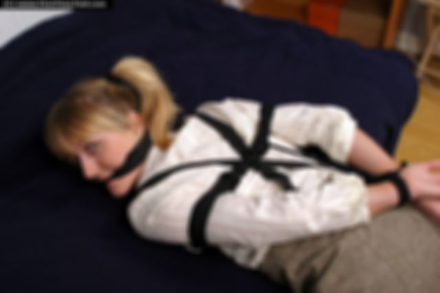 ANKI THE SCHOOLGIRL TIED UP AND GAGGED