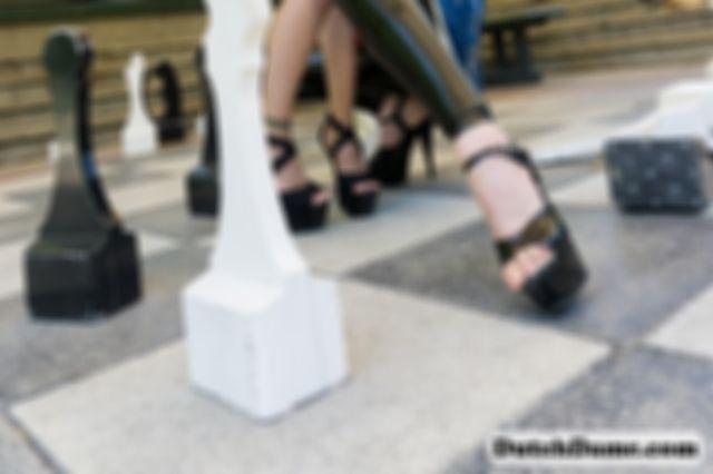Shibari in public