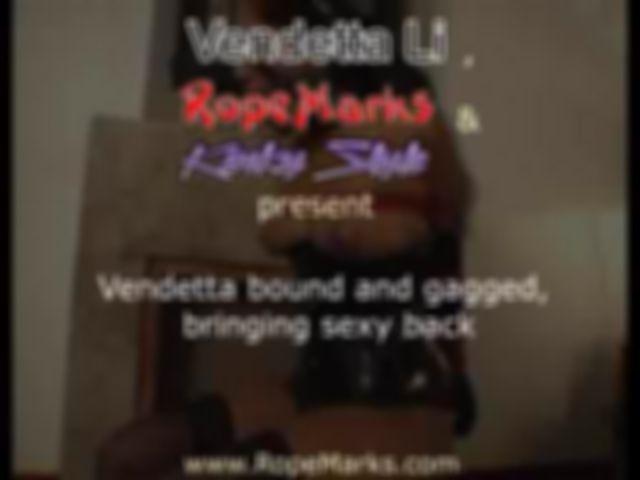 """Vendetta Li, gefesselt und geknebelt, die Wiederbelegung von """"sexy"""""""