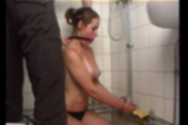 SELFBONDAGE FOR ELIN IN THE BATHROOM 2