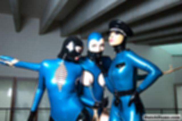 Triad in Blue