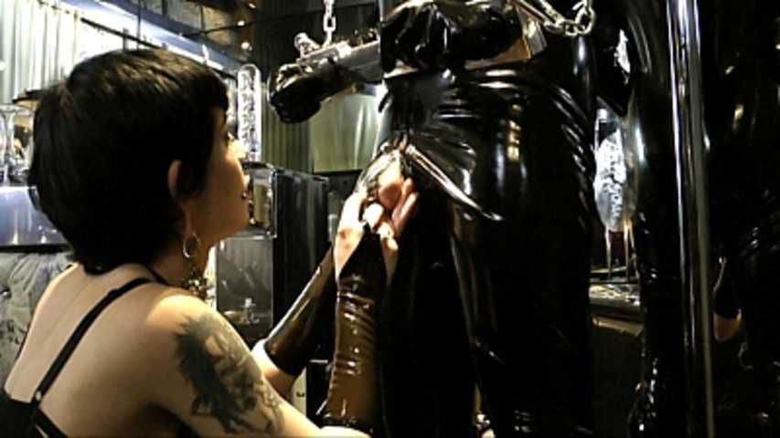 Lady Minou & Kandy - Ultimate Rubber Sex  (Part1)