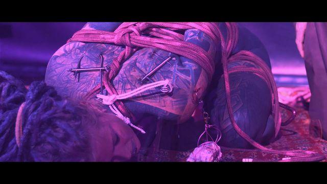 the rite - Vorgeführt bei der kink and ropes 2018 - Shibari suspension Ritual