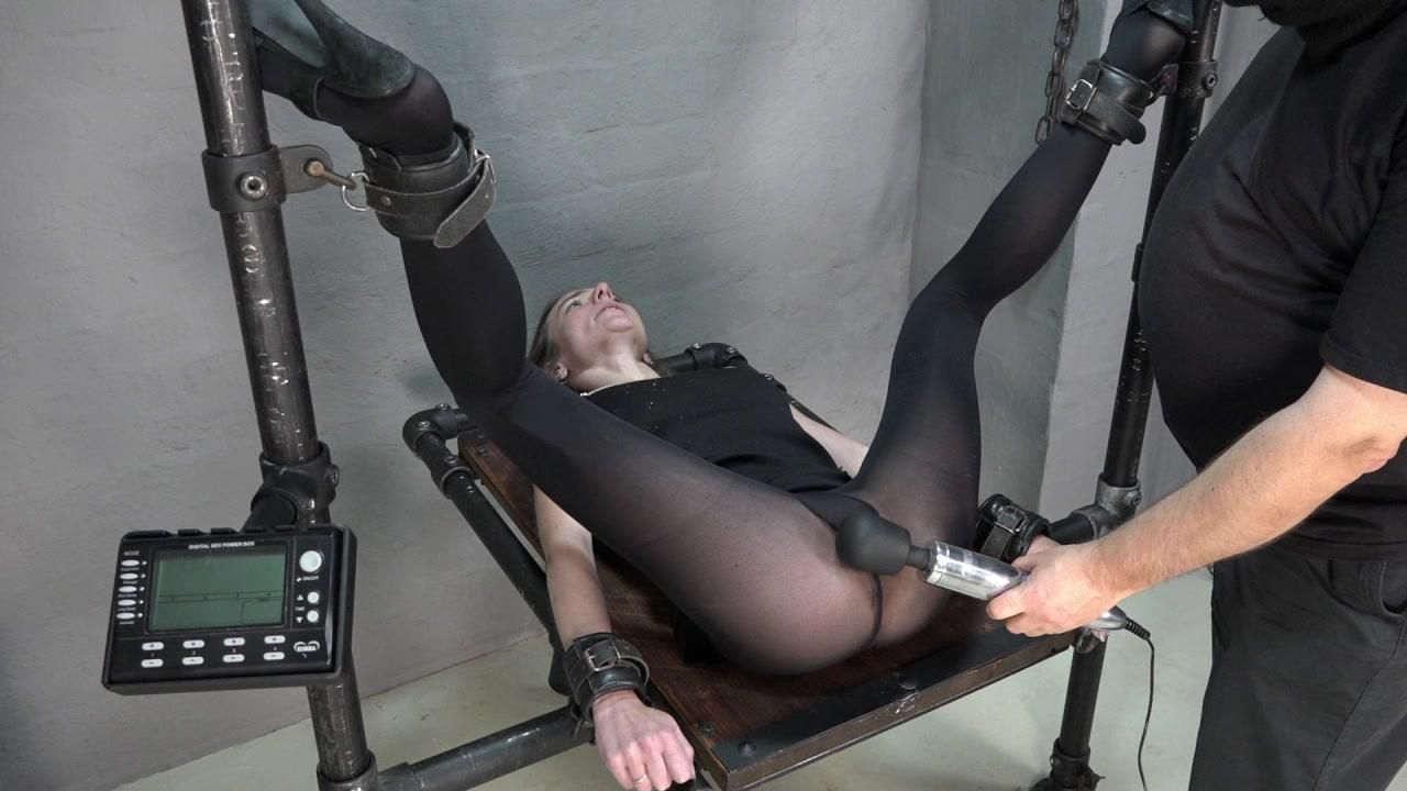 Massager in der Möse