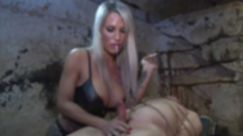 Rough Handjob Milking Domination