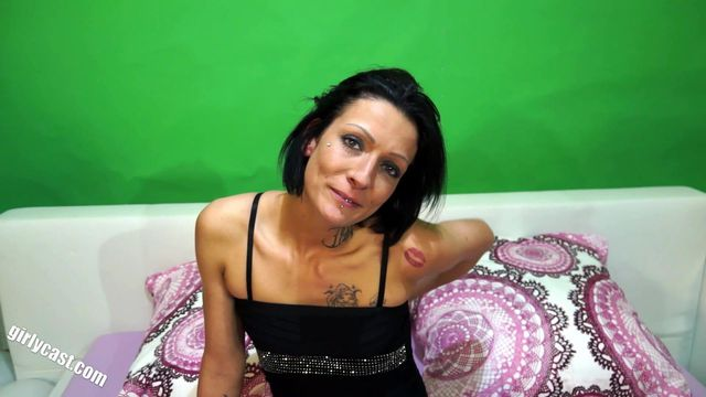 Skinny Girl Fiona Casting - Your first time in front of the camera