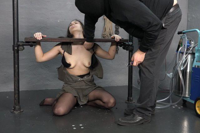 tits torture