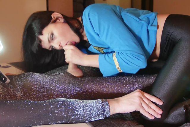 107 Sonya Durganova in Star Trek Spock Nylon