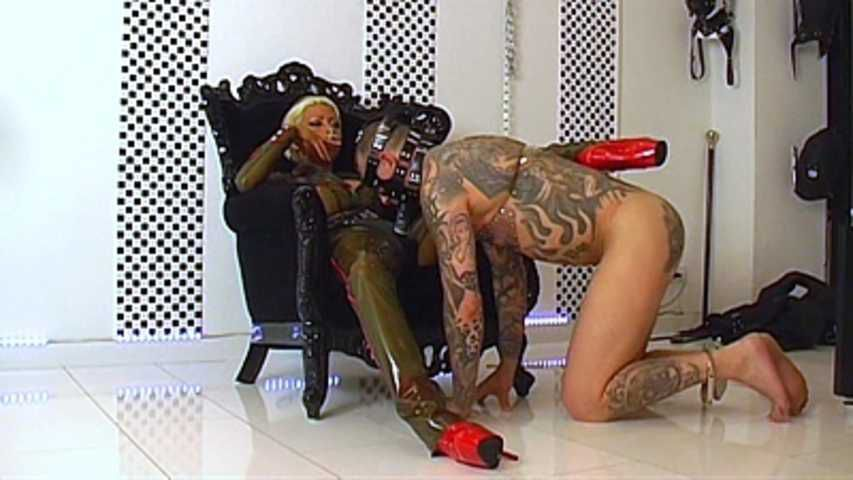 Domina Kate - Whipped and Fucked