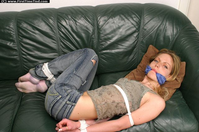 TESS TIED UP THE VERY FIRST TIME
