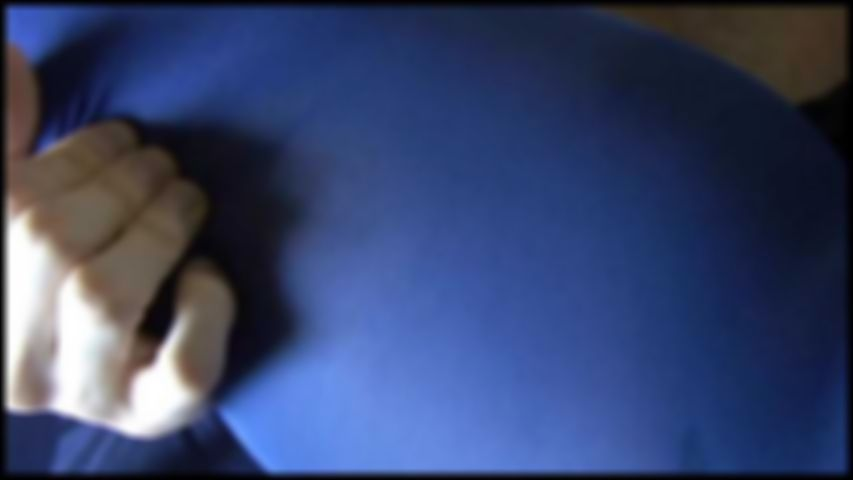 18 Blue Nylon pantyhose Fuck and Cum