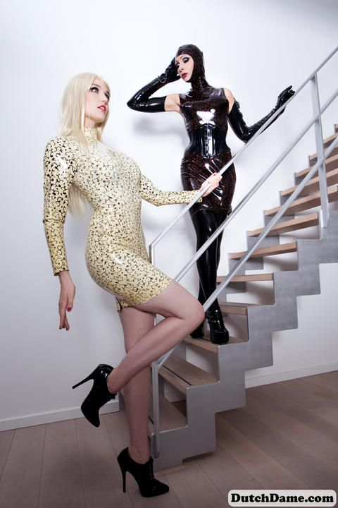 Playful Latex Dolls