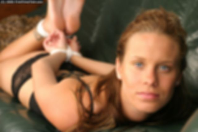 FILIPA HOGTIED THE VERY FIRST TIME