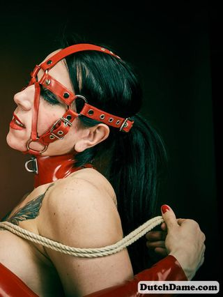 Shiny in Shibari