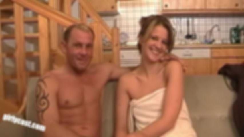 Sarah and Uwe fucked horny