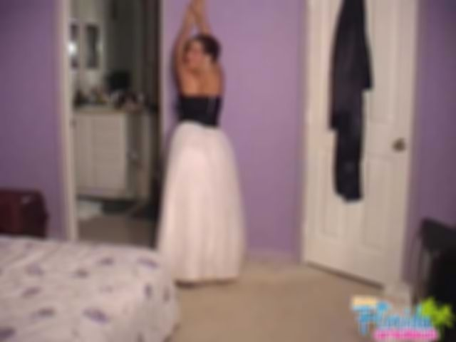 Video - Teen Chynna In Her Prom Dress - Part 1