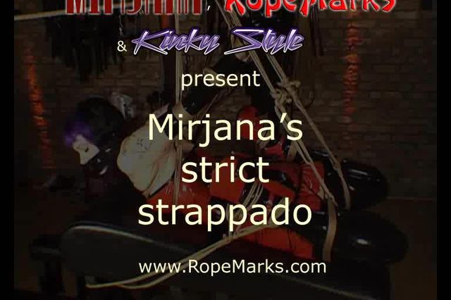 Miss Mirjana in a Strict Strappado