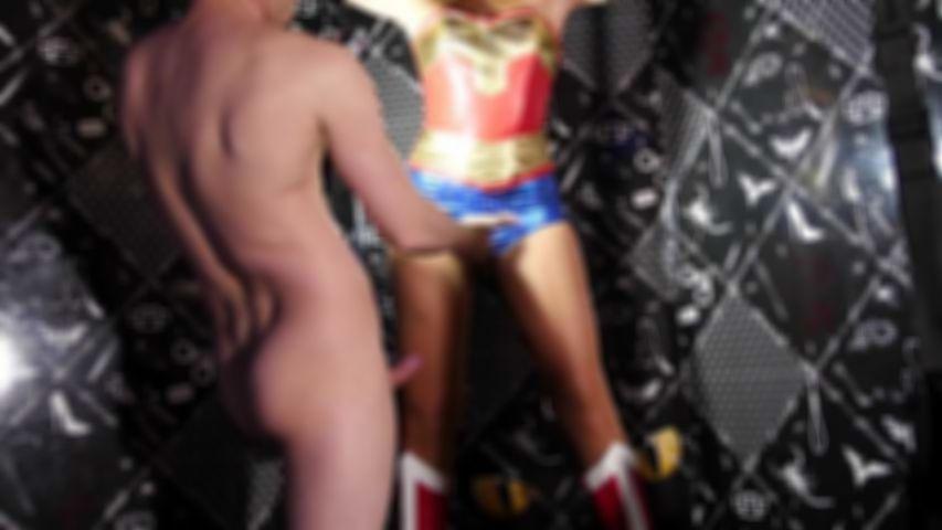 115 Natacha Guapa sind Wonder Woman Gefangenen im Haus des Geschlechts