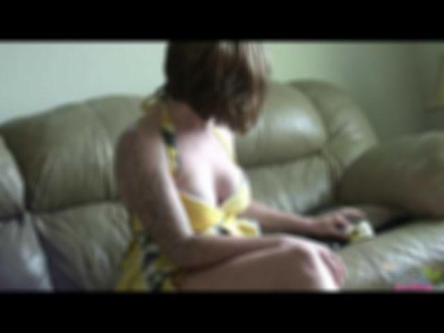 Amateur Milf Summer Stripping Out Of Her Summer Dress - Video