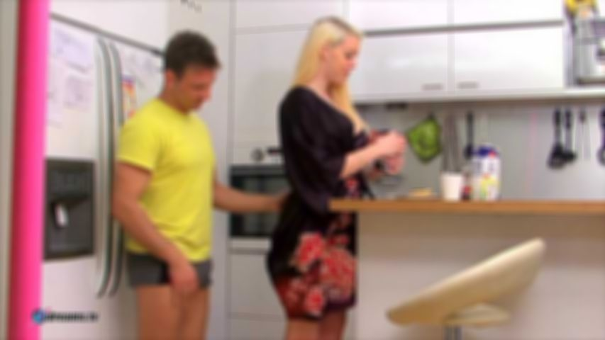 Penny's Cruel Denial Handjob At Breakfast