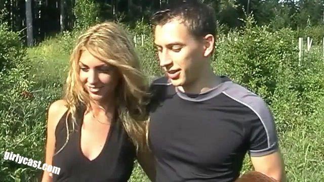 Kim & Victor outdoor Fun