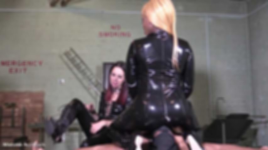 Smothered by shiny PVC