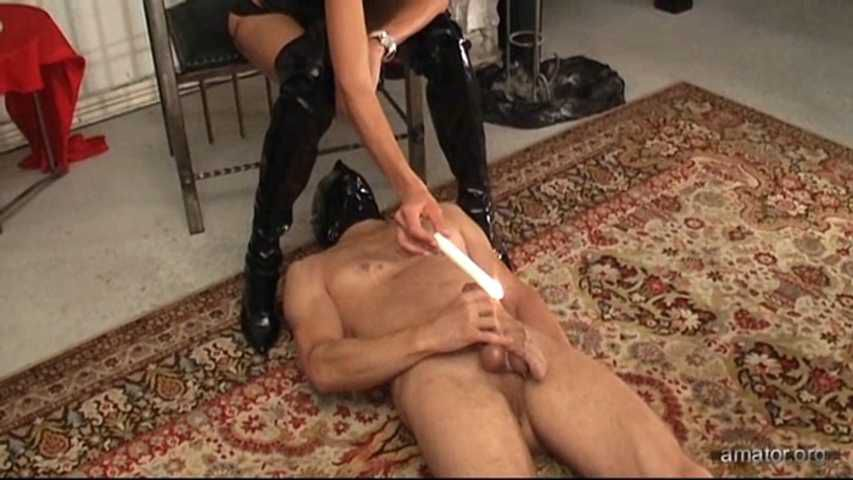 Orgasm for his mistress