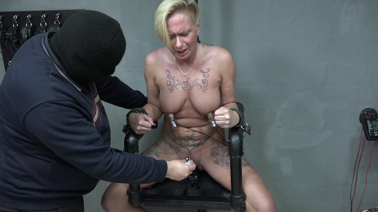 Angel on the electric chair