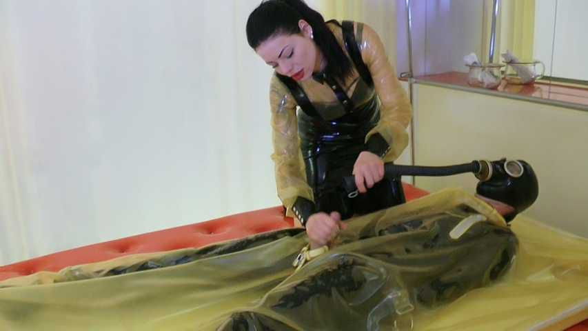 Lady Ashley - The Rubber Toilet