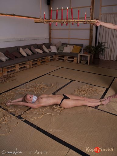 Traditional torment with RopeMarks flair, part 2/2