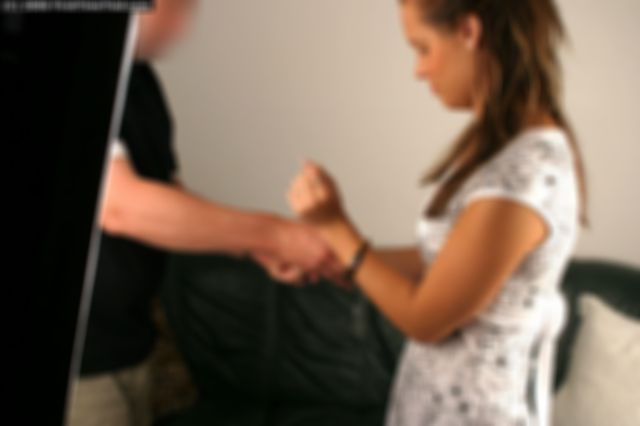 FILIPA HANDCUFFED THE VERY FIRST TIME