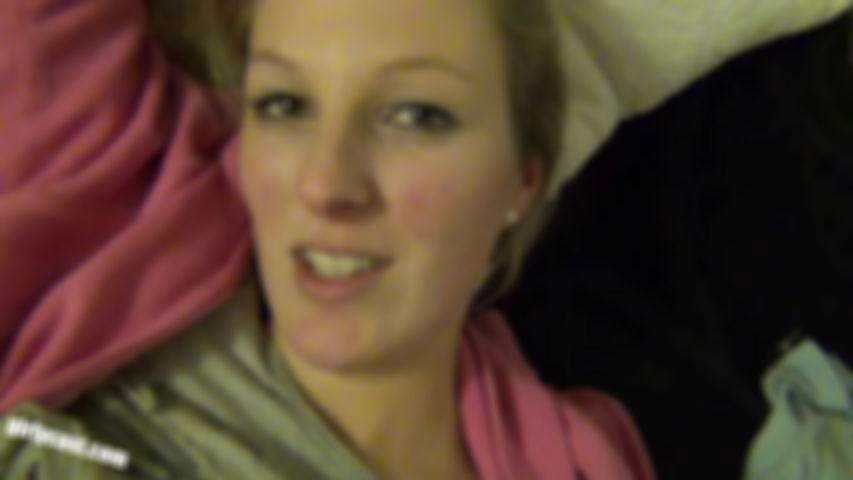 CamAngel first Creampie on Video