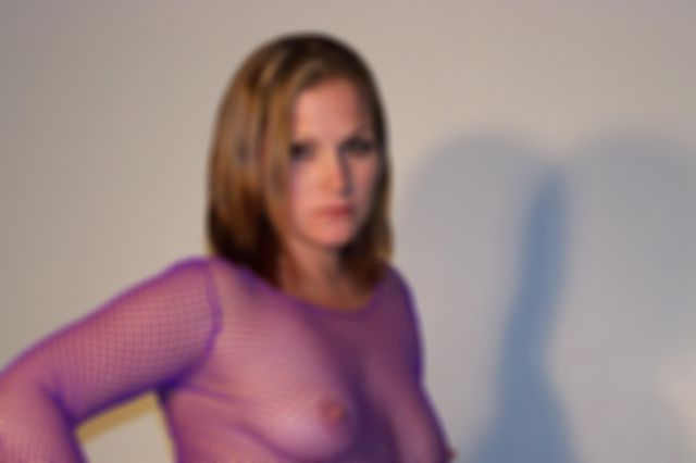 Amateur Milf Toni in Fishnet Top Fisting Her Tight Pussy