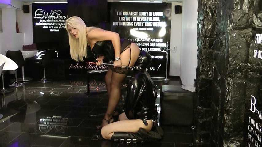 Tatjana Young - Chastity with Slave sold for 5 Euro