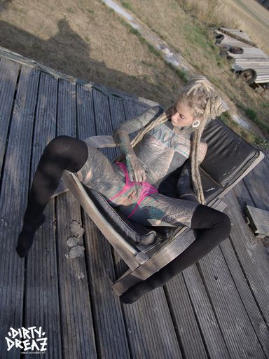 Anuskatzz outdoor sensual set