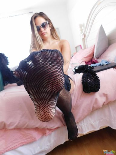 Kinky Teen  Amateur Becky C. Pantie Fetish 4