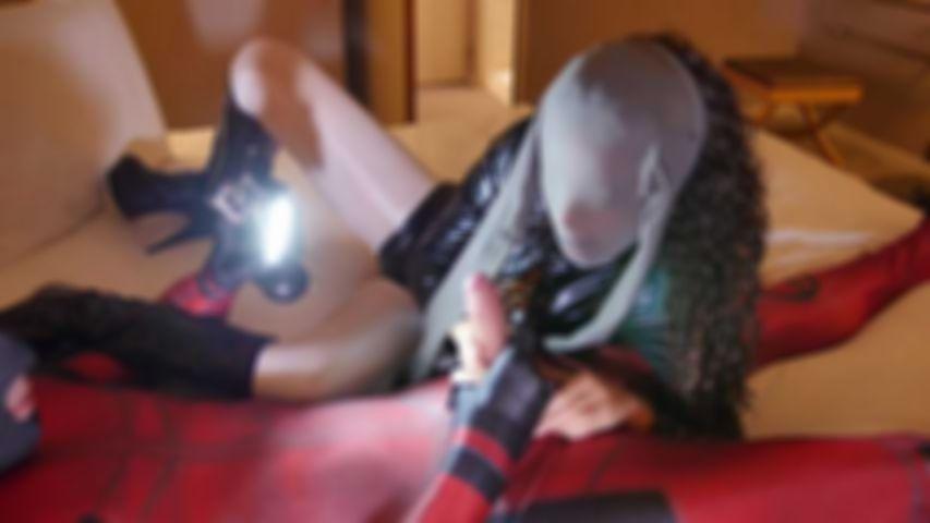 124 Shainez fetish nylon Encasement lesson