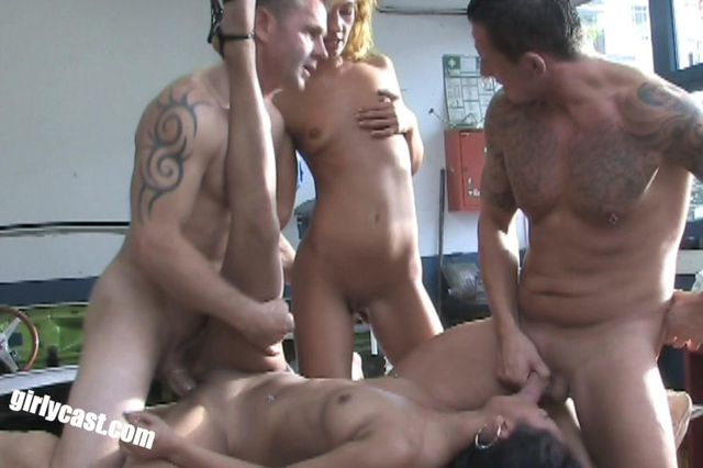 Kima - Jung trainee hard fucked in the workshop