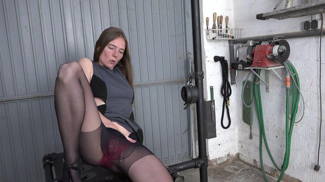 Fisten in der Garage