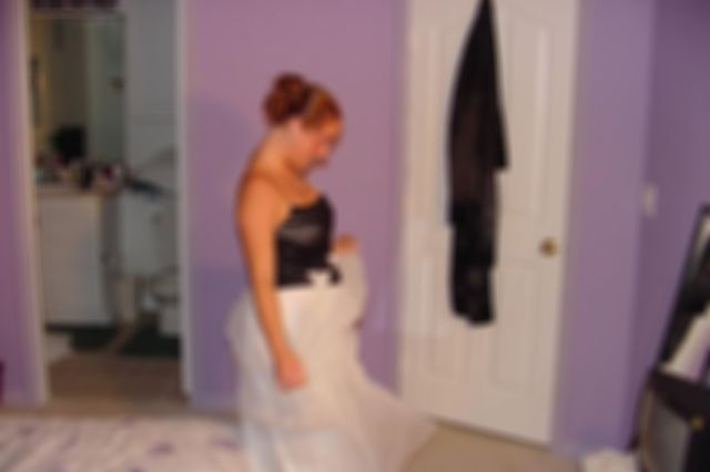 Teen Chynna In Her Prom Dress