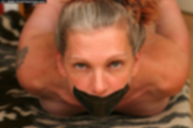 FREJA RESTRAINED THE VERY FIRST TIME - TESTING ROPE, CUFFS AND GAGS