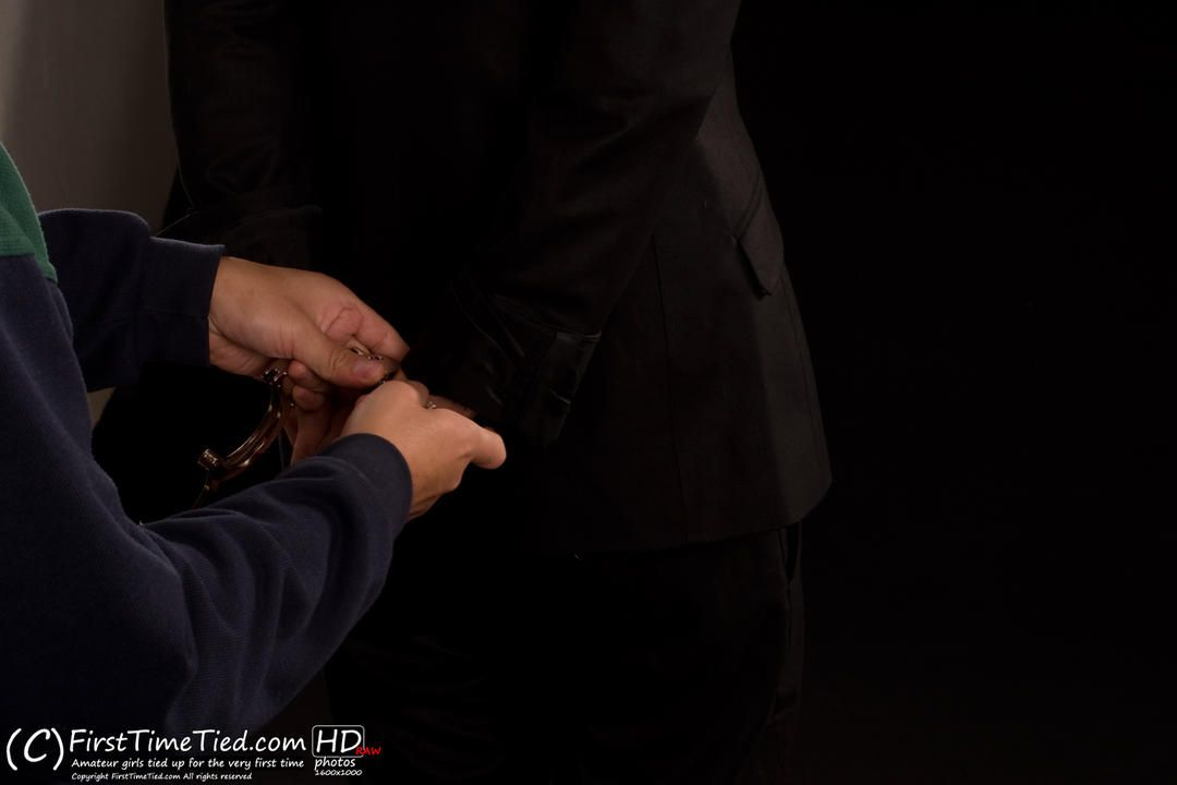 Monica handcuffed and cleave gagged for the very first time - 3