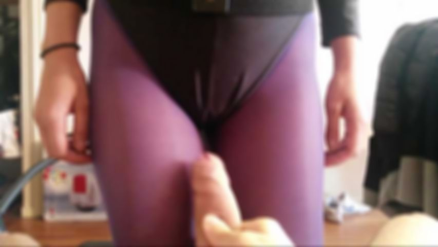 72 Purple Nylon and boots Mask Blow